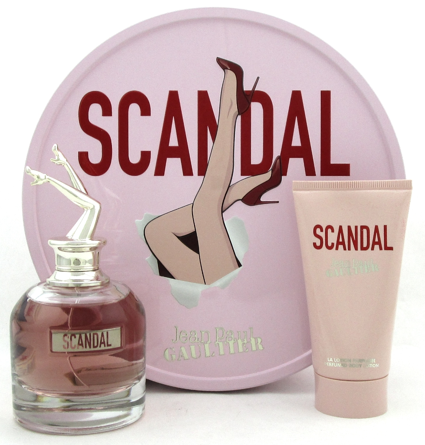 Estuche Jean Paul Gaultier Scandal Edp 80ml Mujer + 75ml Body locion
